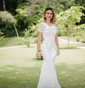 0d3348d52b07 Vestidos Femeninos Branco Longo em Goiás com o Melhores Preços no ...