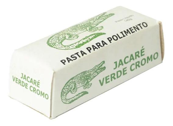 Abrasivo Jacaré Verde Cromo 145 Gr. - Parcelamento Sem Juros