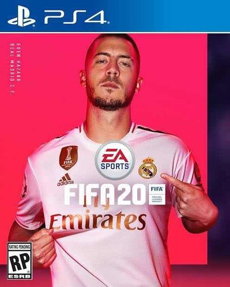Fifa 2020 Ps4 Psn 1 Digital Code 1 Original 1 Português Br
