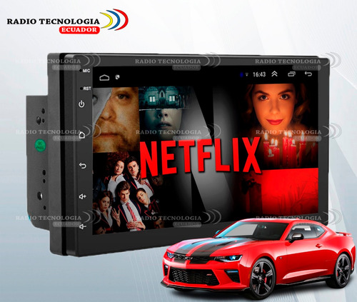 Radio Doble Din Android 7 Pulgadas Full Hd + Cámara