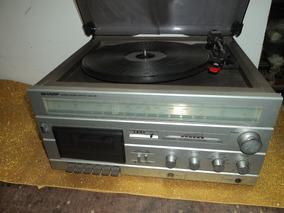 Vitrola Antiga Radio Fita /disco/ Charp/ Sg 12.b.radio Fm