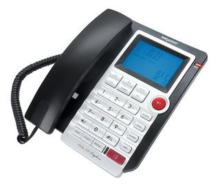 Teléfono De Escritorio Nakazaki Con Calculadora, Alarma 8028