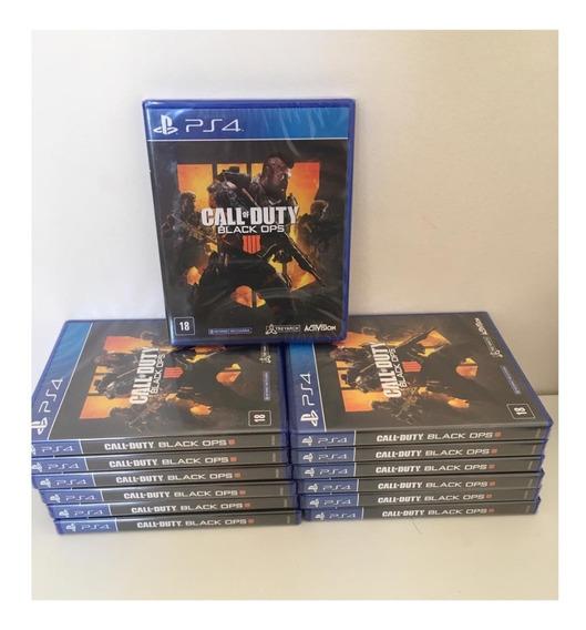 Jogo Ps4 Kit Atacado Revenda Call Of Duty Black Ops 4 Portug