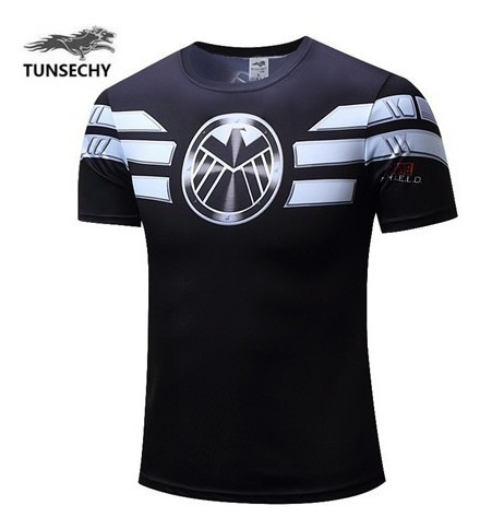 Camisa Shield 3d Tunsechy