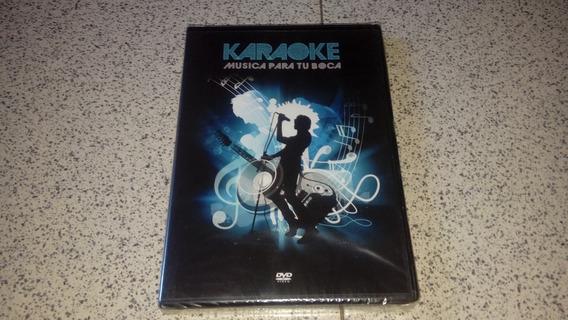Karaoke: Música Para Tu Boca (dvd Canciones En Español)