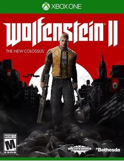 Wolfenstein 2 The Nuevo Fisico Xbox One Sellado