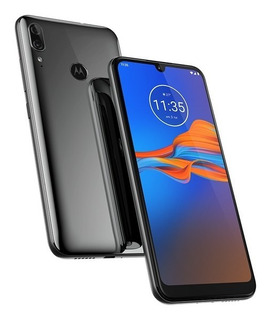 Celular Motorola Moto E6 Plus 32gb Na Cor Cinza