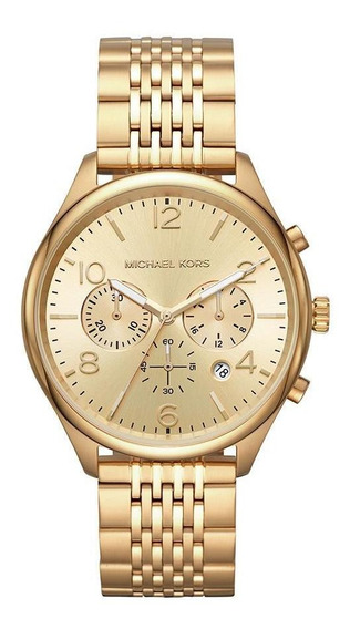 Relógio Feminino Michael Kors Merrick Dourado - Original