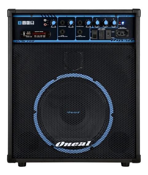 Caixa Amplif Oneal Ocm 390 Bt C/ Bt/usb/fm 80w Rms