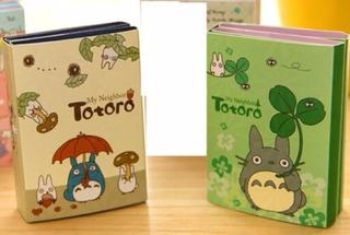 Set 2 Totoro Libreta Memo Pad Notas Papeleria + Envio Gratis
