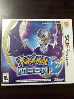 Pokemon Moon (luna) Nintendo 3ds Y 2ds Xl