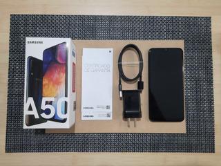 Celular Samsung A50 De 64 Gb Color Negro Liberado