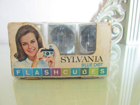 Flash Cubes Sylvania Antigo Funcionando