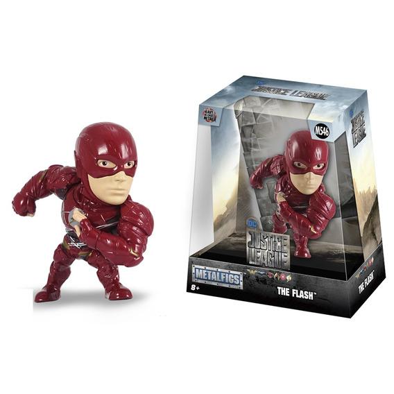 Figura Metals Liga De La Justicia Flash 11 Cm.