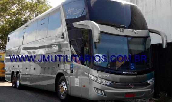 Marcopolo Paradiso Ld G7 Ano 2014 Scania K400 Tur.jm Cod 178
