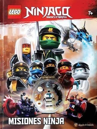 Lego Ninjago Libro Para Niños Para Con Mini Figura 1950