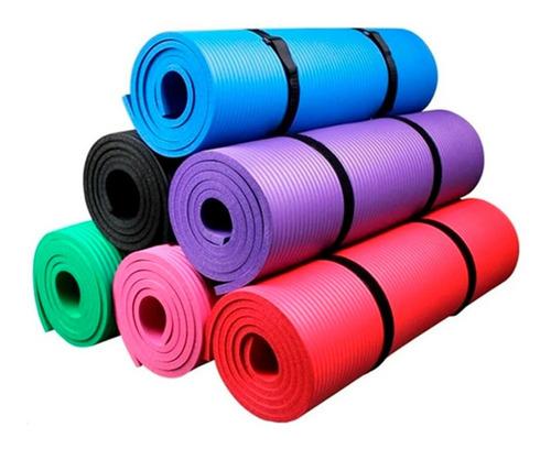 Imagen 1 de 2 de Mat De Yoga Alfombra Espesor 10mm Extra Resistente,(gruesa)