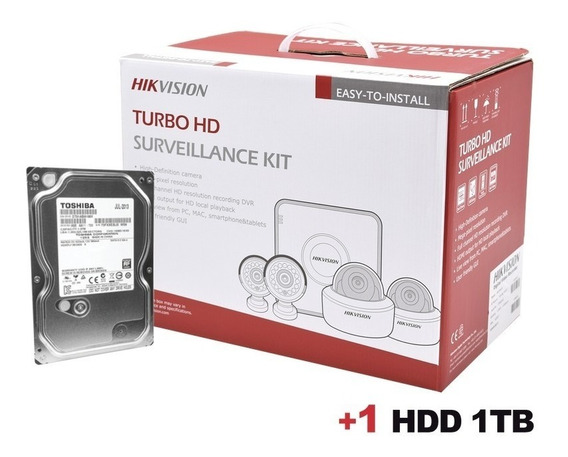 Kit Turbohd 1080p + Disco Duro 1
