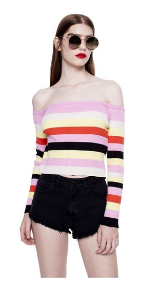 Sweater Stacey Tejido Cuello Redondo Mujer Complot