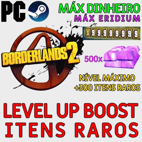 Itens Raros + Nível Máximo Borderlands 2 Pc Steam