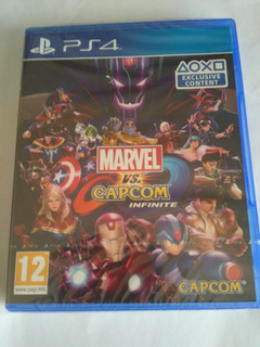 Marvel Vs Capcom Infinite Ps4 Nuevo Sellado