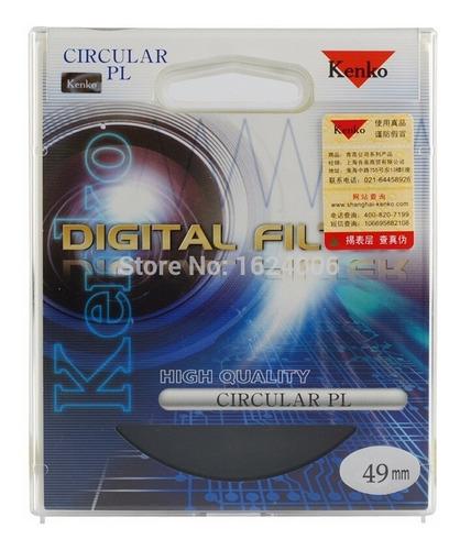 Filtro Cpl 49mm Kenko Original