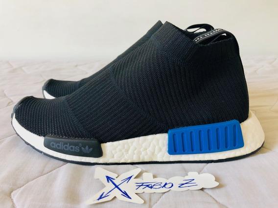 ### Tênis adidas Nmd Cs1 City Sock Core Black Lush Blue ###