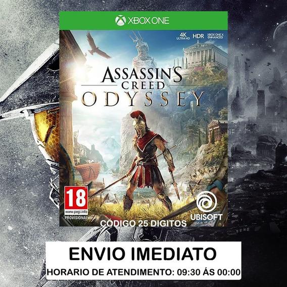 Assassins Creed Odyssey Xbox One - Código De 25 Dígitos