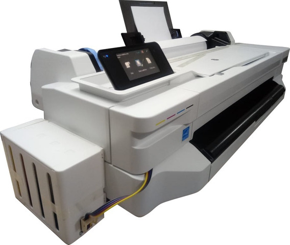 Impressora Ploter Hp T130 A1 E Rolo 61cm + Bulk