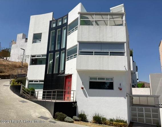 Casa En Renta En Lomas De Bellavista, Atizapan De Zaragoza, Rah-mx-21-2568