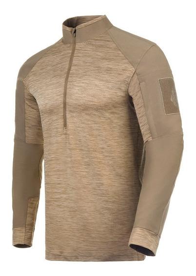 Camisa Invictus Hawk Caqui Tática Airsoft Camiseta Original Com Nota Fiscal