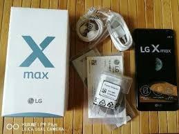 Smarthone Lg X Max Novo Com Pelicula E Capa Carteira De Prot