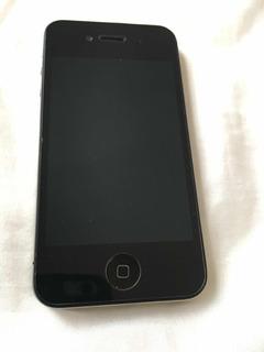 iPhone 4 S, 8 Gb, Br, Preto, Com Película De Vidro Vx Case