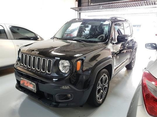 Jeep Renegade Longitude 1.8 Flex Aut 2016