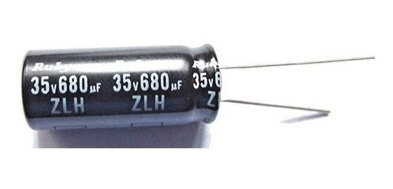 Condensador 680uf 35v 5 Unidades