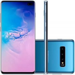 Celular Smartphone Samsung Galaxy S10 Plus Azul