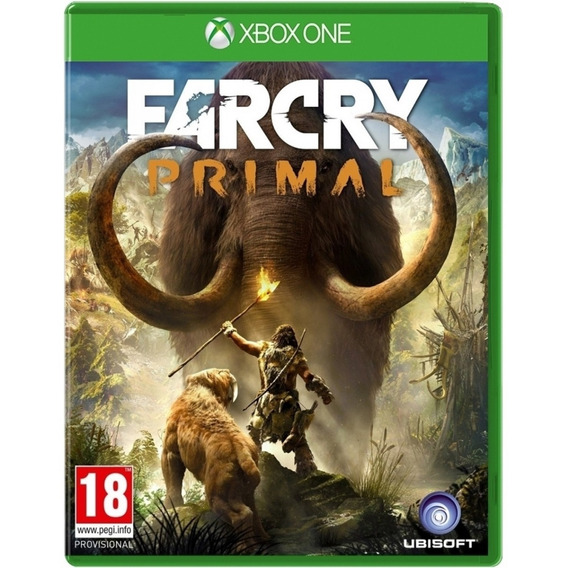 Game Far Cry Primal Xbox One Midia Fisica Lacrado Português