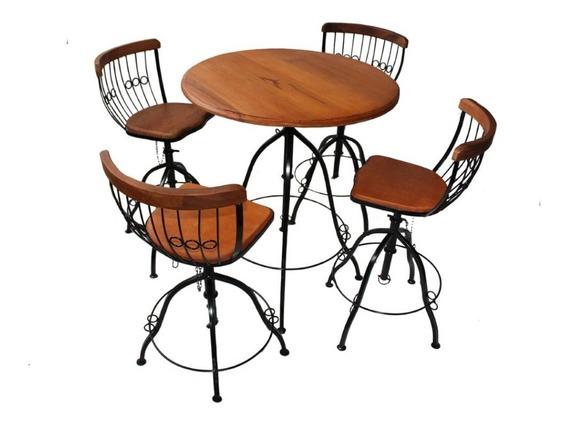 Conjunto Mesa E Cadeiras Bistrôs Bem Embaladoalta Qualidade