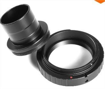 Combo Anel T2 Nikon + Adaptador Tubo 1.25