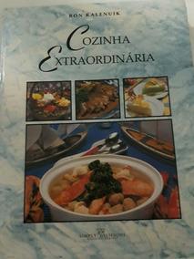 Livro Cozinha Extraordinaria