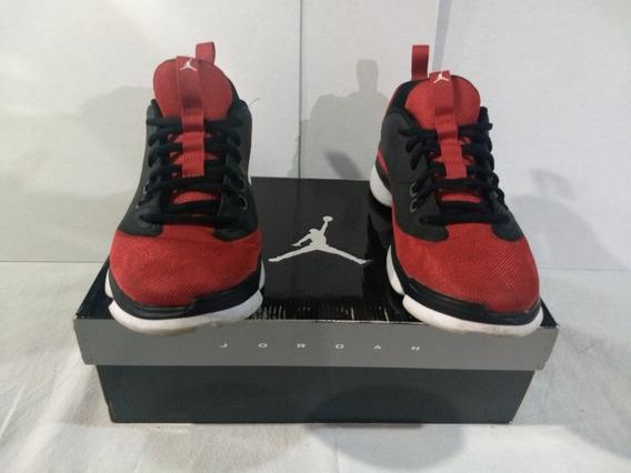 Jordan Tenis Originales Rojos Talla 26.5