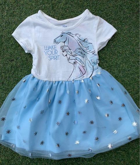 Vestido Disney Niña Elsa Frozen 2