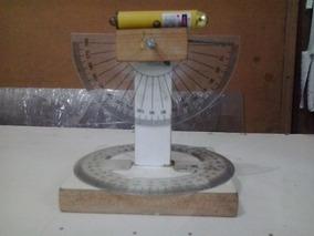 Teodolito Artesanal Para Prática Geometria Em Sala