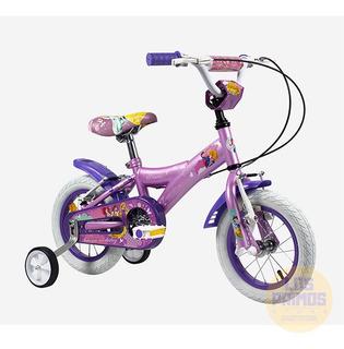 Bicicleta Rodado 12 Princesas Licencia Oficial Acero Rayo
