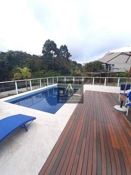 Maravilhosa Casa Mobiliada Para Locação Em Alphaville - Confira!!! - Ca2003