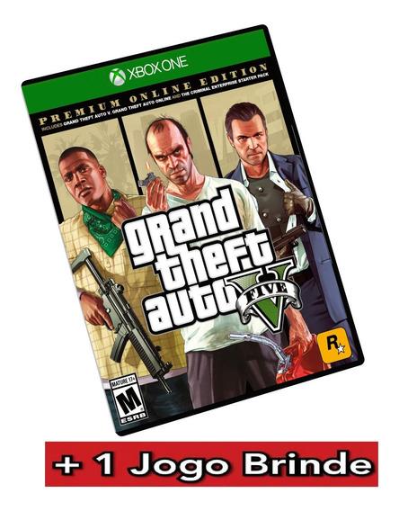 Gta V Xbox One Mídia Digital + Brinde