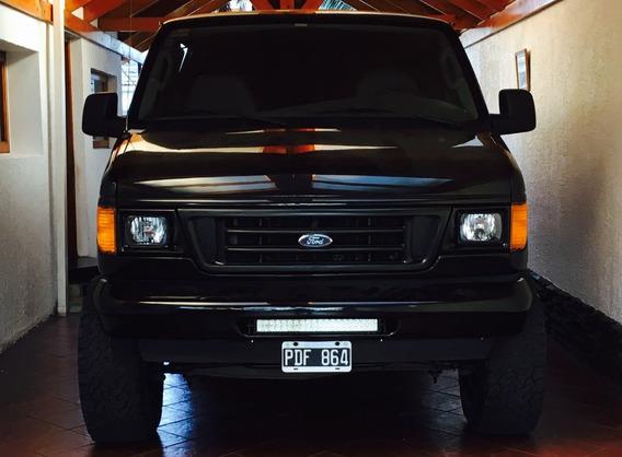 Ford Van Econoline E150 V8 Triton 73.000 Millas Reales