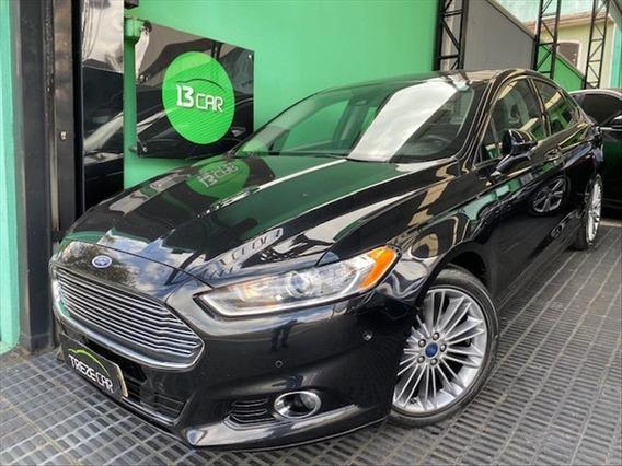 Ford Fusion 2.0 Titanium Plus Awd Automático - Teto-solar