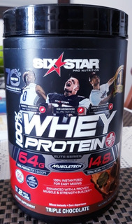 Proteína Whey Protein Six Stars Muscletech Suplemento Gym