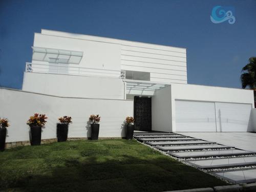 Imagem 1 de 21 de Casa No Condomínio Jardim Acapulco - Guarujá - Ca0604